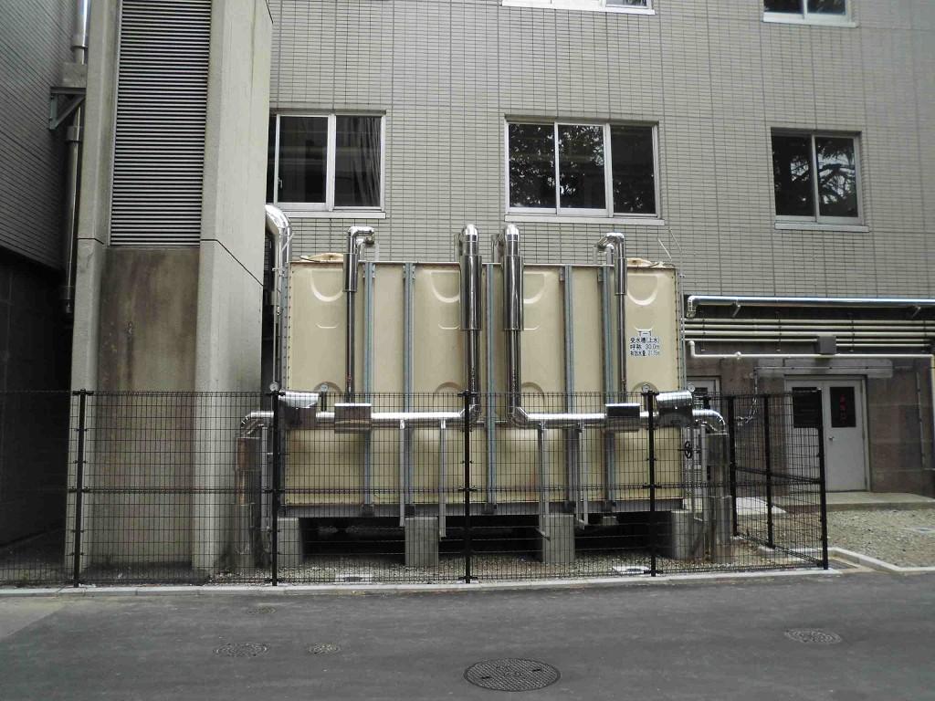 県庁本庁舎給排水設備
